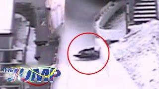 Lady Victoria Hervey's Terrifying Skeleton Crash | The Jump