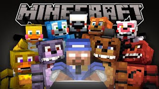 If Herobrine Played Five Nights At Freddy's 2 - Minecraft Animation