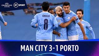 Man City v Porto (3-1) | Champions League Highlights