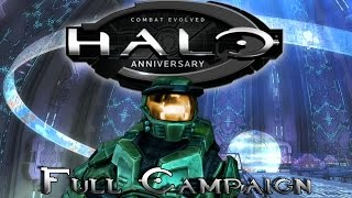 Halo: Combat Evolved Anniversary | Full Campaign Gameplay / Playthrough [ No Commentary ]