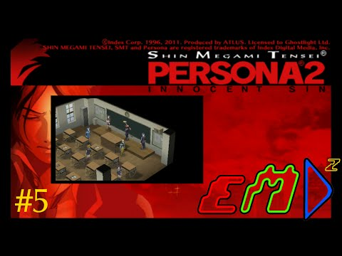 Persona 2: Innocent Sin - #5 - Stop All The Clocks