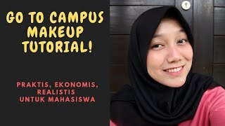 Go To Campus Makeup Tutorial - Drugstore Products