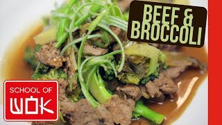 Unbelievable Chinese Oyster Sauce, Beef and Broccoli Stir Fry Recipe | Wok Wednesdays