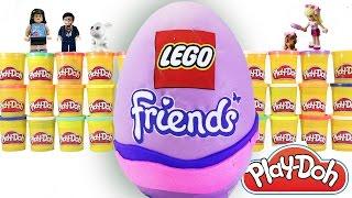 Lego Friends   Sürpriz Yumurta Oyun Hamuru Videoları 22   Evcilik TV