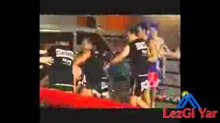 Драка Джабара Аскерова с Рафиком Бакаури вне ринга (Скандальное Видео)