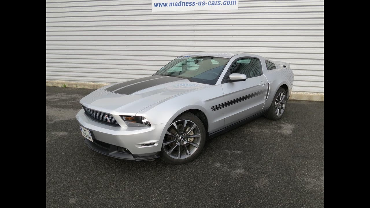Ford Mustang GT California Special 2011 - YouTube