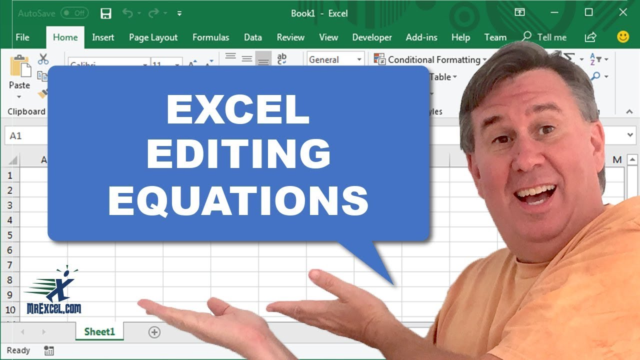 Excel In Depth   Equation Editor Podcst 20