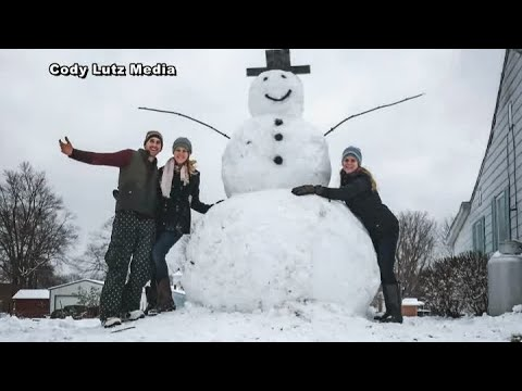 Wendy - Giant Kentucky Snowman Gives Vandals Instant Karma