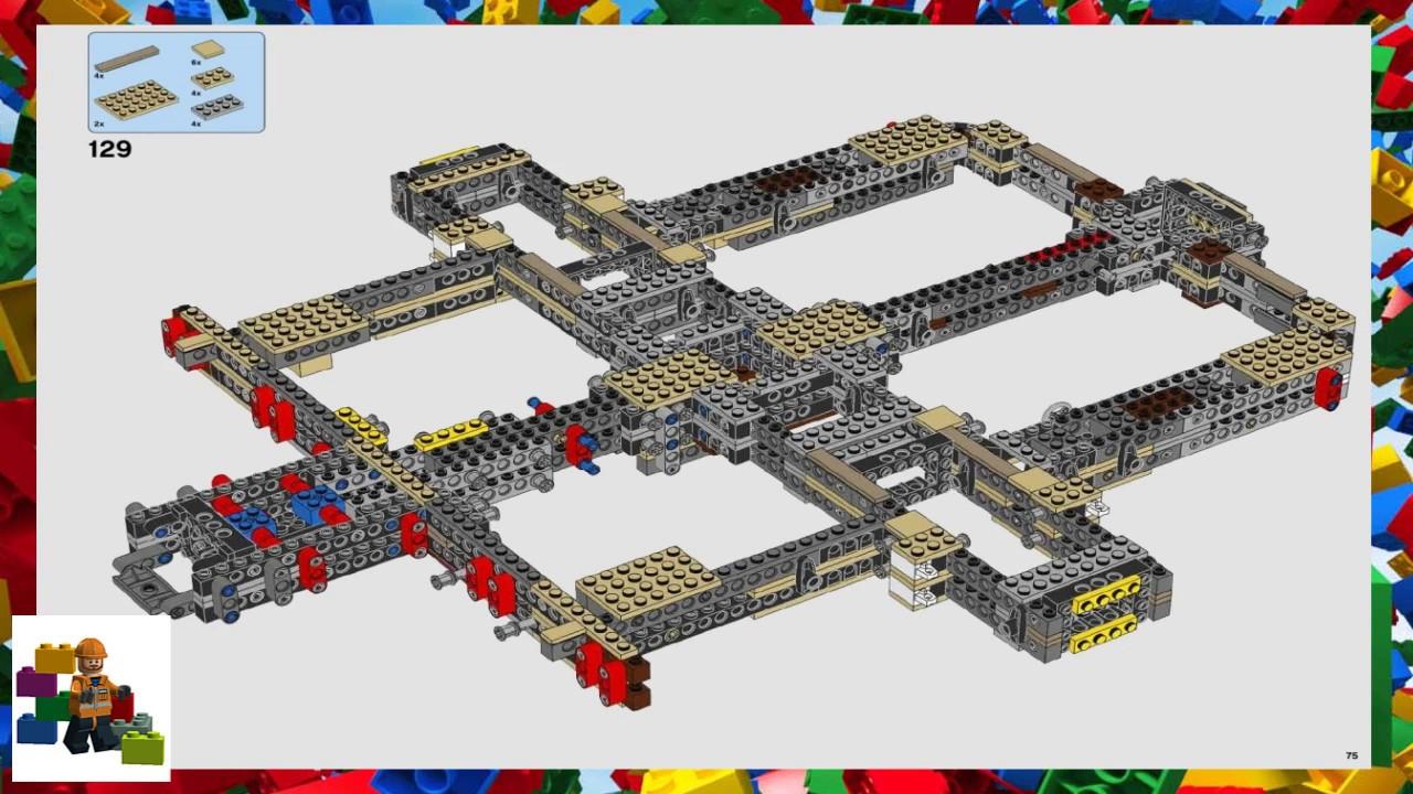 Lego Instructions Star Wars 75192 Millennium Falcon Youtube