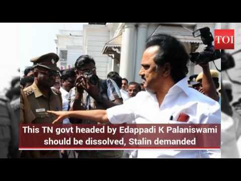 DMK's MK Stalin, party leaders detained