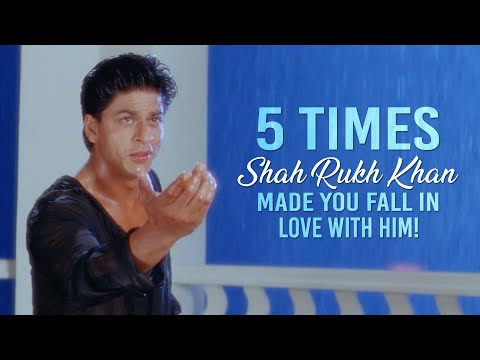 5 Times Shah Rukh Khan Made Us Fall In Love | Birthday Special