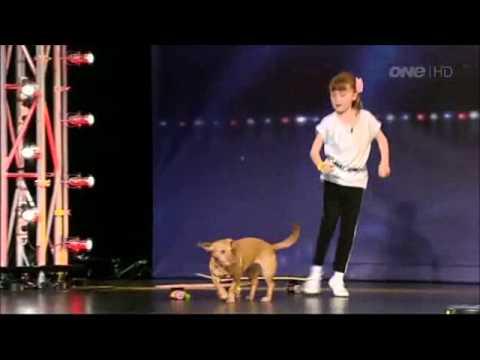 Emily & Pickle - NZ's Got Talent 2012