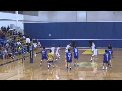 2014 Boys Volleyball: Punahou vs. Corona del Mar (April 11, 2014)