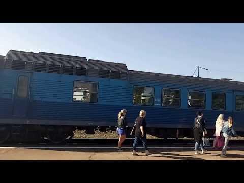 Автомотриса АЧ2 на станции Клинцы.
