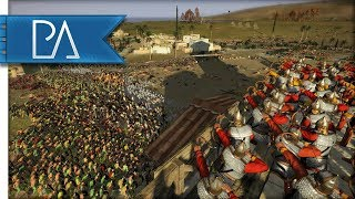 Barbarians Invade Roman Unfortified Town - Total War: Rome 2