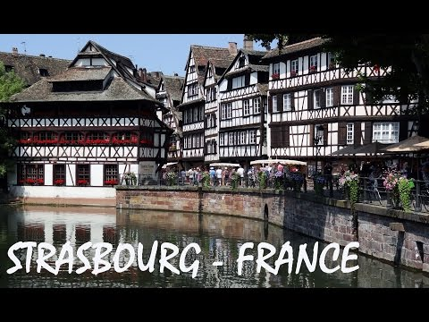 Strasbourg in France tourism: city of European Parliament -