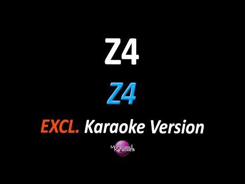 Z4 ABERTURA: UM DOIS TRÊS Z4 Karaoke  - Z4