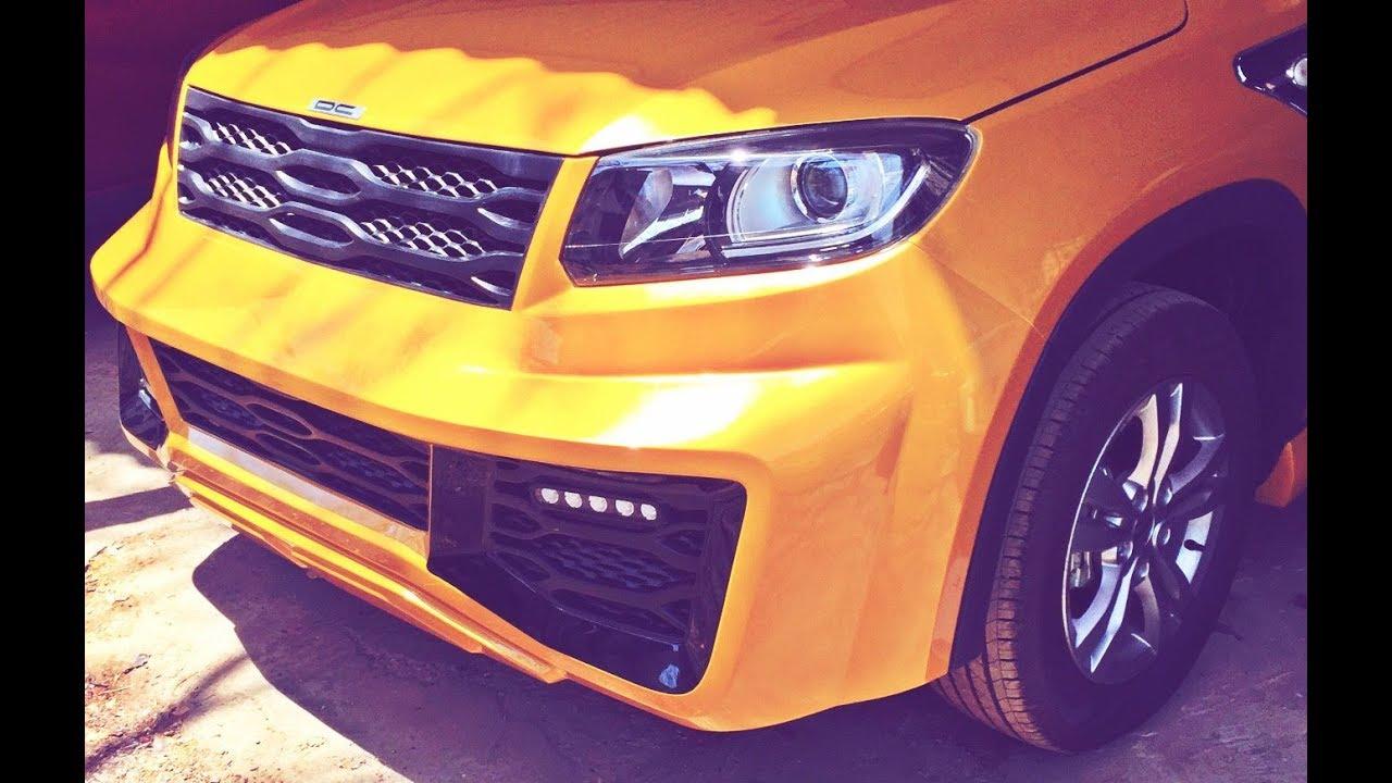 Maruti Suzuki Vitara Brezza Modified By Dc Design Exterior And