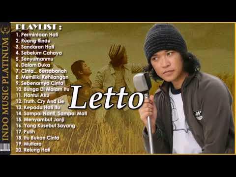 LETTO   20 Pilihan Lagu Terbaik Sepanjang Karir   INDO  PLATINUM
