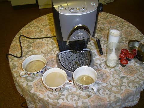 Functional testing  Coffeemaker  Tchibo Cafissimo TCM  229 575