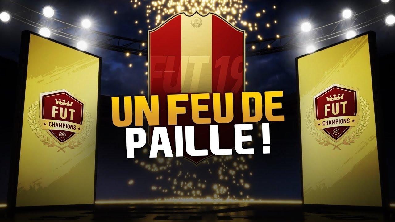 PACKS FUT CHAMPIONS - UN FEU DE PAILLE !