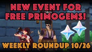 Log in today for Free Primogem…