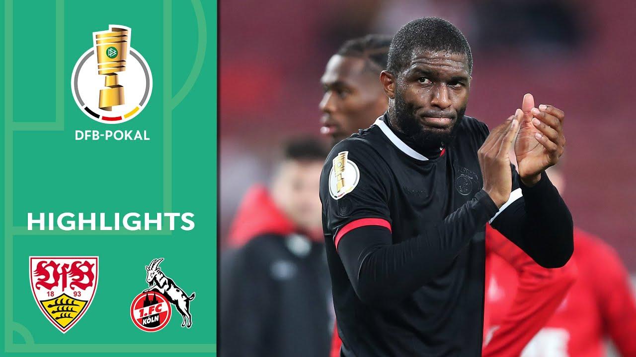 Download Modeste-Double secures the win! | VfB Stuttgart - 1. FC Köln 0-2 | Highlights | DFB-Pokal 2. Runde