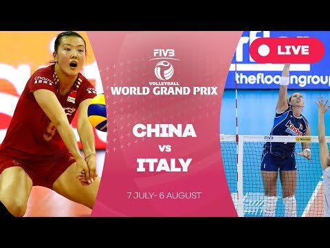 China v Italy - Group 1: 2017 FIVB Volleyball World Grand Prix