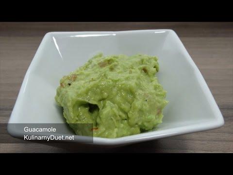Przepis Na Guacamole - Pastę Z Awokado