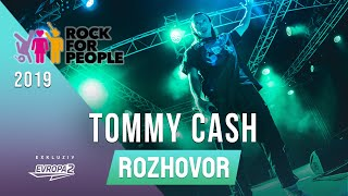 TOMMY CASH (interview/rozhovor @ Rock For People 2019)
