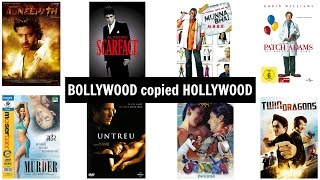 Top 20 BOLLYWOOD Movies copied from HOLLYWOOD