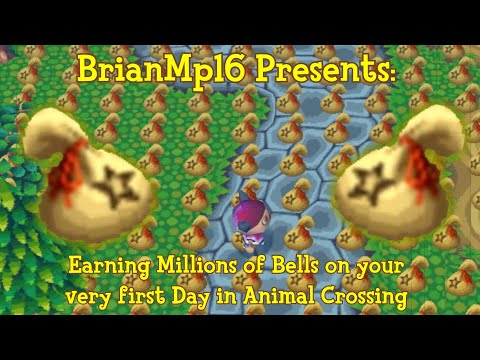 How To Earn MILLIONS On Your First Day In Animal Crossing!