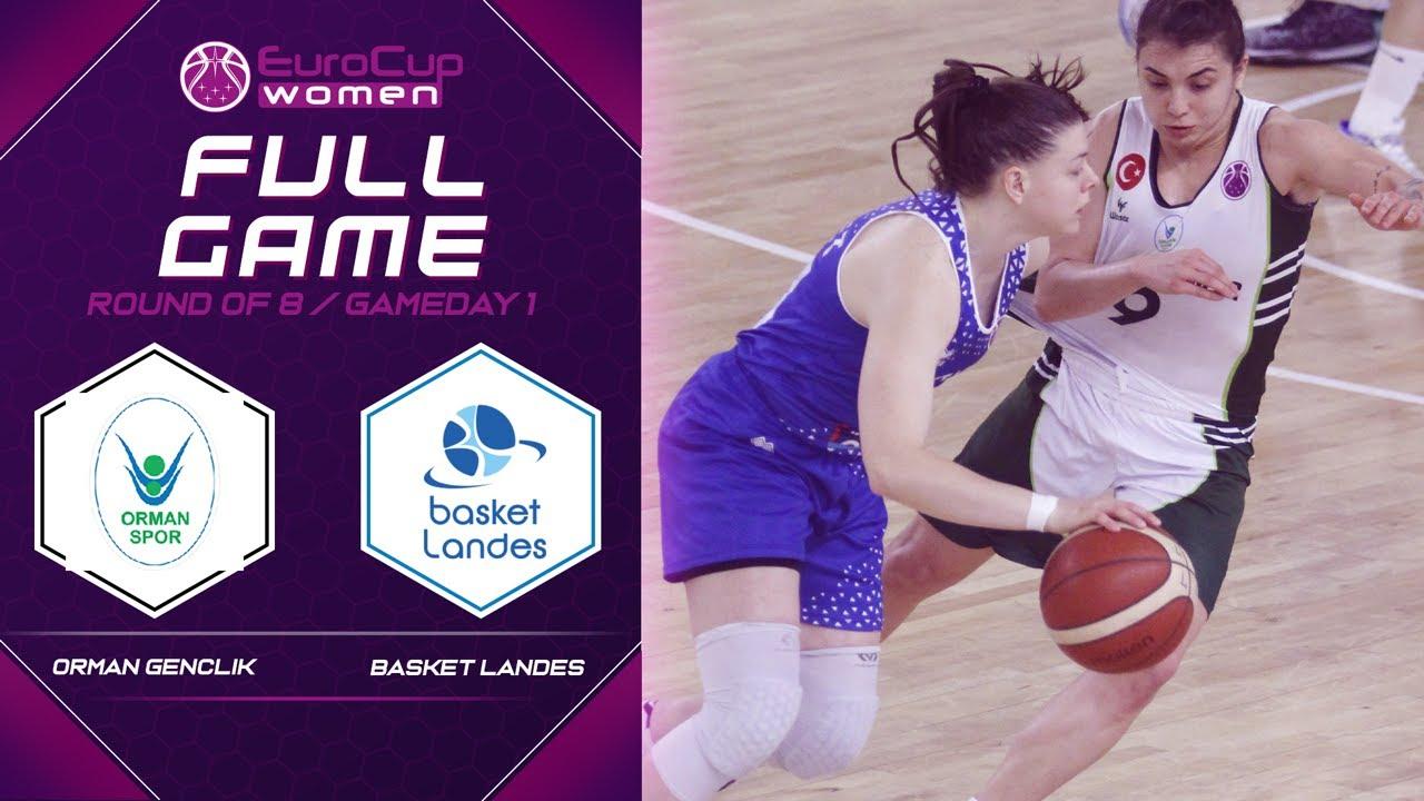 Orman Genclik v Basket Landes - Full Game - EuroCup Women 2019