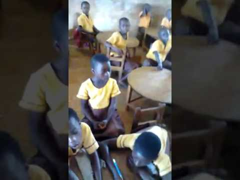 SCHOOL TEACHER JOKES WITH CLASS IN GHANA