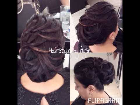 topuz modelleri 2014 2015 hochsteckfrisuren 2014 2015 hairstyle by ayse youtube. Black Bedroom Furniture Sets. Home Design Ideas