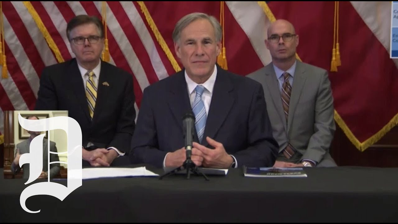 Texas Governor Abbott Announces 'Phase 1' Reopening To Start ...
