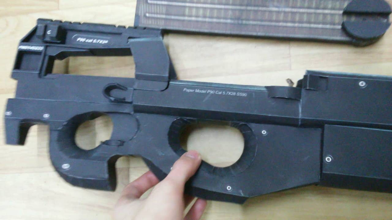 Ps90 For Sale >> Paper Made P90 For Sale Youtube