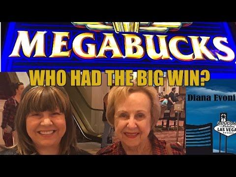 BIG WIN-MEGABUCKS SLOT MACHINE-LIVE PLAY