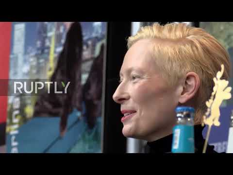 Germany: Tilda Swinton And Daughter Present 'The Souvenir' At Berlinale