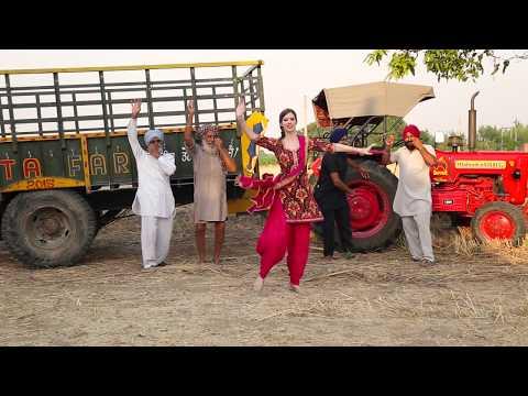 PUNJABI MUTIYARAN | JASMINE SANDLAS | Bhangra by Christine |