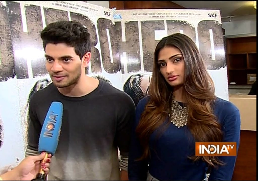 Hero Athiya Shetty And Sooraj Pancholi Exclusive Interview India