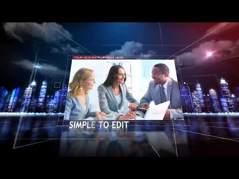 Corporate Stars Slideshow | After Effects Project Files - Videohive Template
