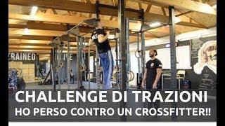 Challenge di Trazioni alla Sbarra - Le ho prese da un CrossFitter ;-(