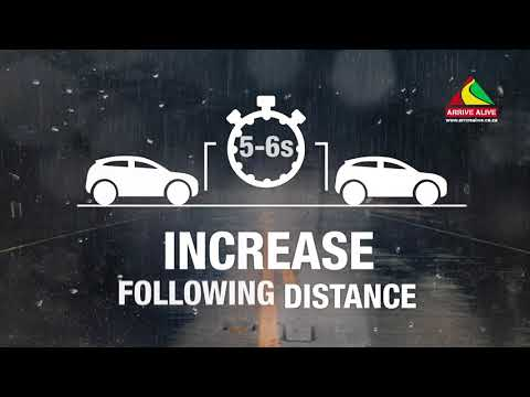 Advice for Safe Driving in Bad Weather Conditions and Reduced Visibility