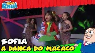 Programa Raul Gil - Sofia (A Dança do Macaco) - Homenagens Patati Patatá