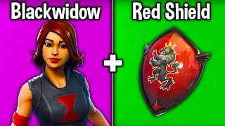 10 BEST 'BLACKWIDOW' SKIN + BACKBLING COMBOS! (Fortnite Avengers Combinations)