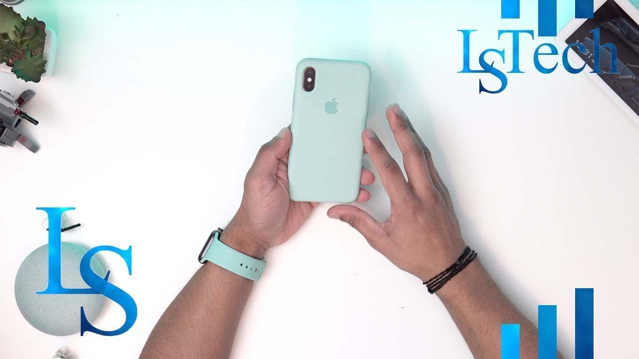 the latest f53a9 0204e Apple iPhone Xs Marine Green/ Aqua Case