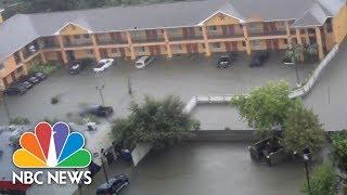 U.S. Coast Guard Conducts Rescue Mission After Hurricane Harvey | NBC News