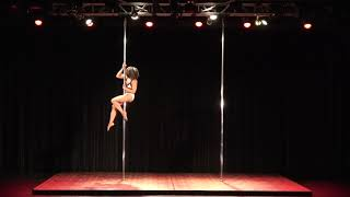 2018 US Pole Dance Championship Novice Level 1 Artistic Division - Missy