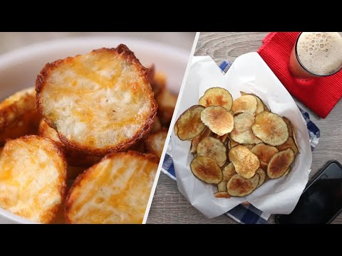 6 Fun Ways To Make Chips For All Day Snackin' • Tasty